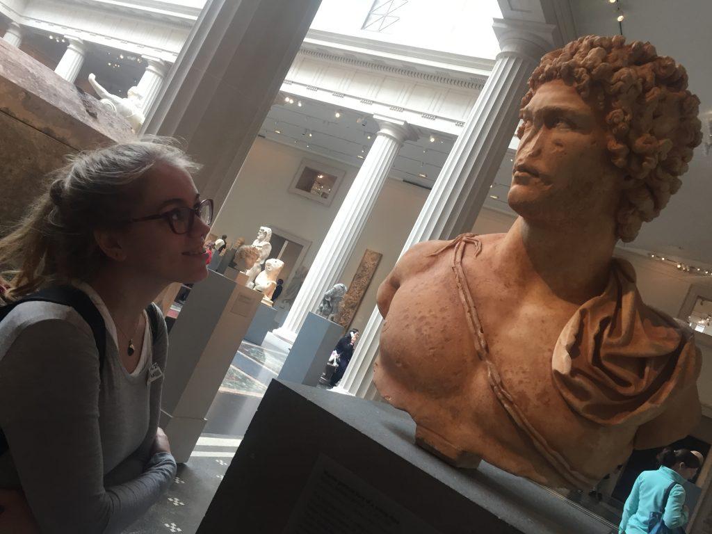 Római kori ifjú, mellszobor